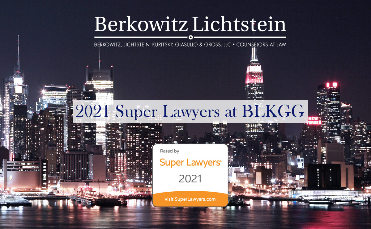 super lawyers for 2021 at BLKGG